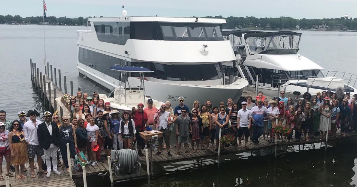Merchology Boat Cruise 2018