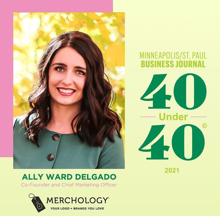 CO-FOUNDER & CMO ALLY DELGADO SELECTED AS 40 UNDER 40 HONOREE