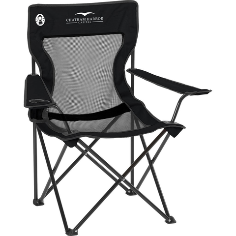 Coleman Quad Chair with Pocket