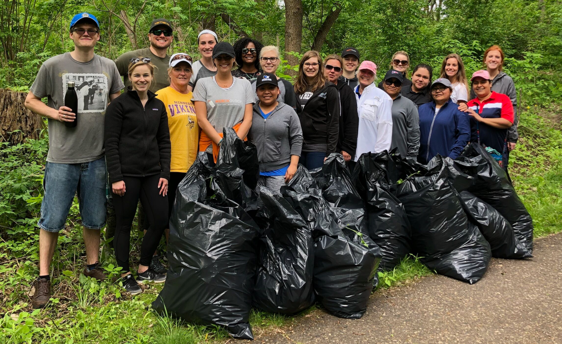 Merchology Volunteers at Coldwater Spring