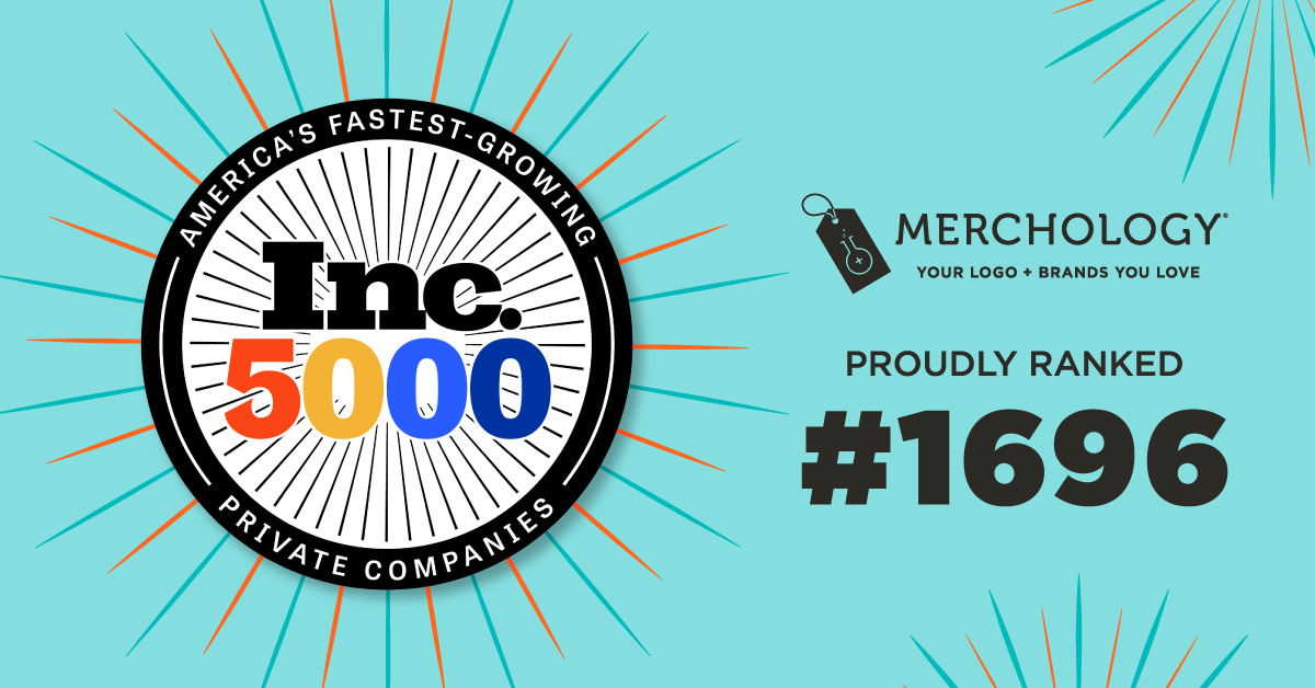 Three-peat: Merchology Again Named An Inc 5000 Fastest Growing Company