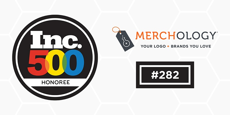 Merchology Ranks #282 on Inc. 5000 with Sales Growth of 1730%