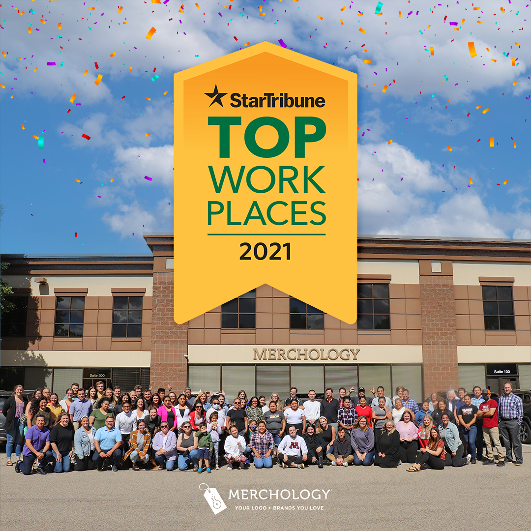 MERCHOLOGY NAMED A NATIONAL STANDARD SETTER IN THE STAR TRIBUNE'S TOP WORKPLACES FOR 2021