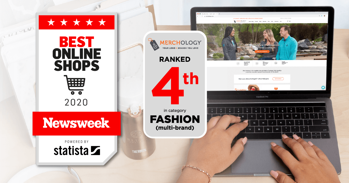Newsweek Lists Merchology.com as a Top Online Shop for 2020