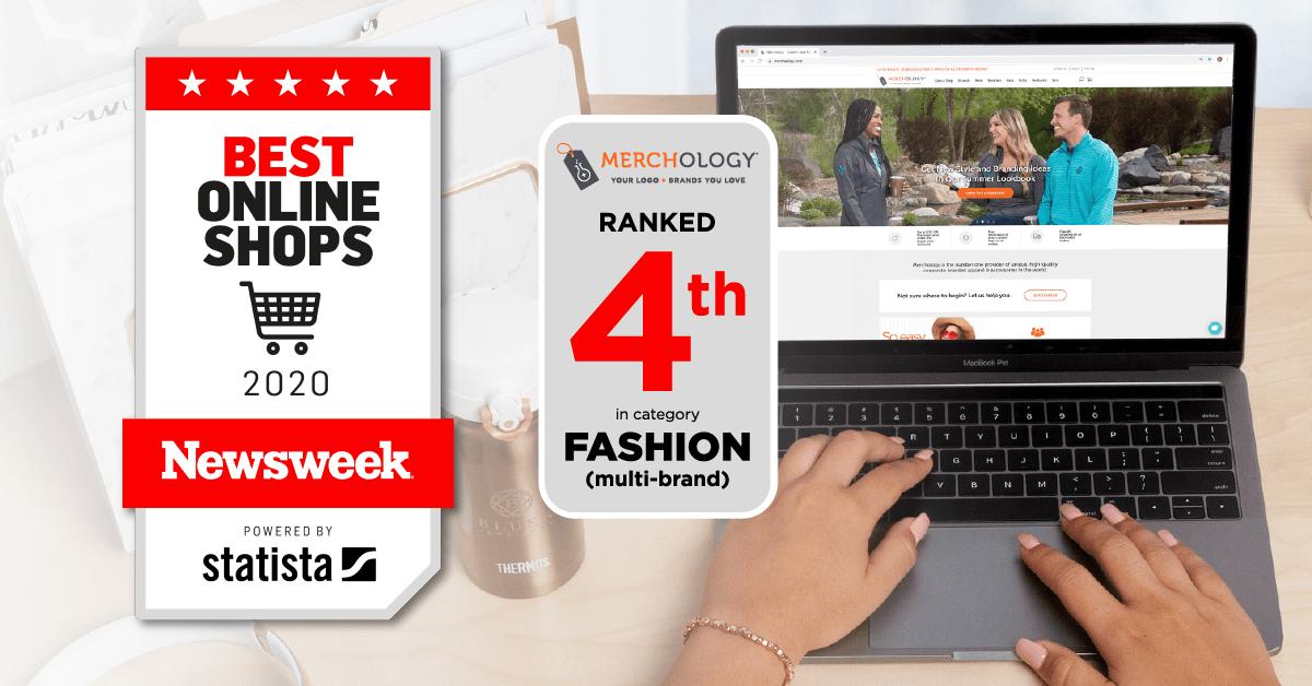 Newsweek Lists Merchology.com as a Top Online Shop for 2020